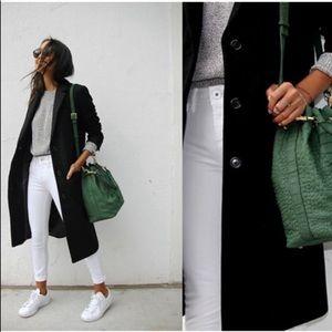 Calvin Klein 100% Merino Wool Classic Coat